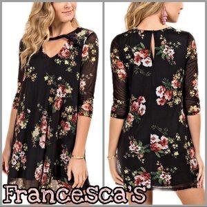 Francesca's | Women's Floral Knit Dress NWT SZ S
